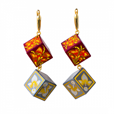 'Cubes' Earrings