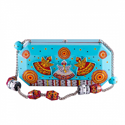 'Clutch' Bag - «Snow-maiden»