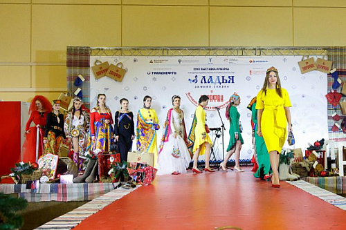 POLINA DIBROVA, MISSIS RUSSIA'2017, BECAME AN AMBASSADOR OF THE HOKHLOMA FASHION HOUSE LADA&LIZA
