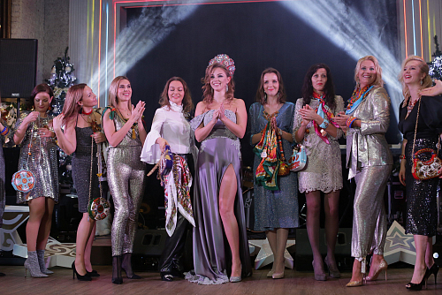 LADA&LIZA ACCESSORIES COLLECTION WAS PRESENTED AT NEW YEAR'S EVENING IN POLINA DIBROVA'S CLUB