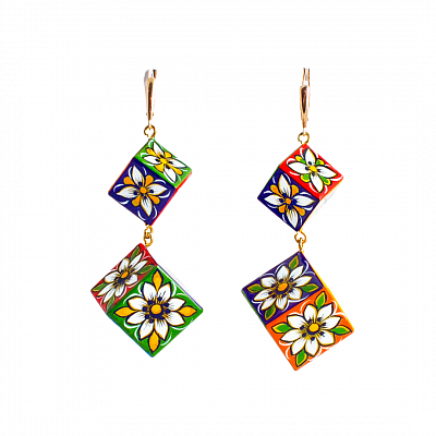 'Asymmetry' Earrings