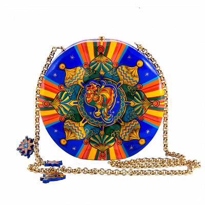 'Blue Drum' Bag - «The Golden Cockerel»